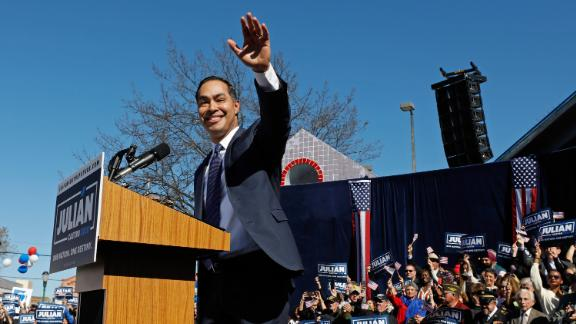 Julian Castro was among the 2020 candidates looking for more donors to meet a DNC requirement to qualify for primary debates this summer.