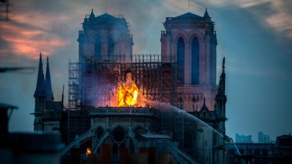 The fire that broke out on April 15 devastated Notre Dame.