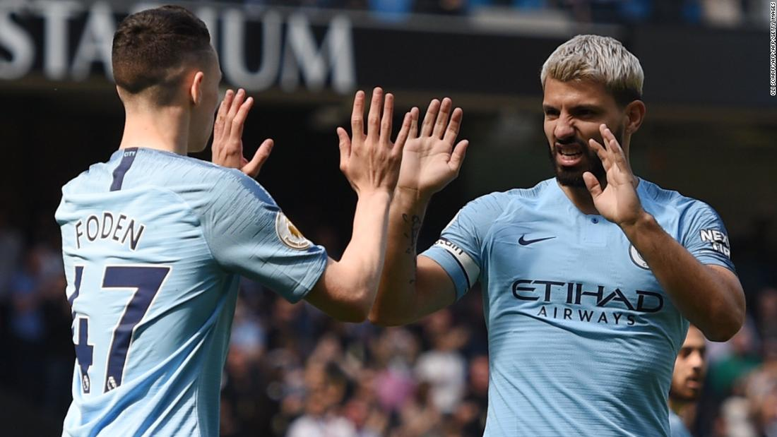 Man City return to top of Premier League with victory over Tottenham
