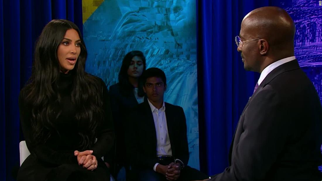 Kim Kardashian on her relationship with the White House