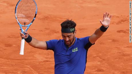 Fabio Fognini shocked Rafael Nadal to reach the Monte-Carlo Masters final.