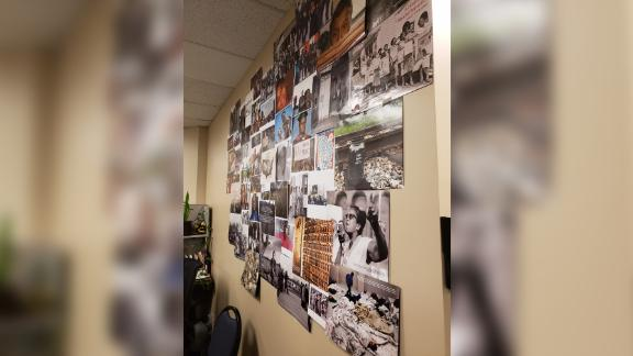 """Karimah Guion-Pledgure says she got ugly notes after she put together an """"equity wall"""" at the office."""