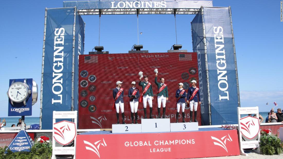 Pieter Devos wins Miami Beach leg of Global Champions Tour