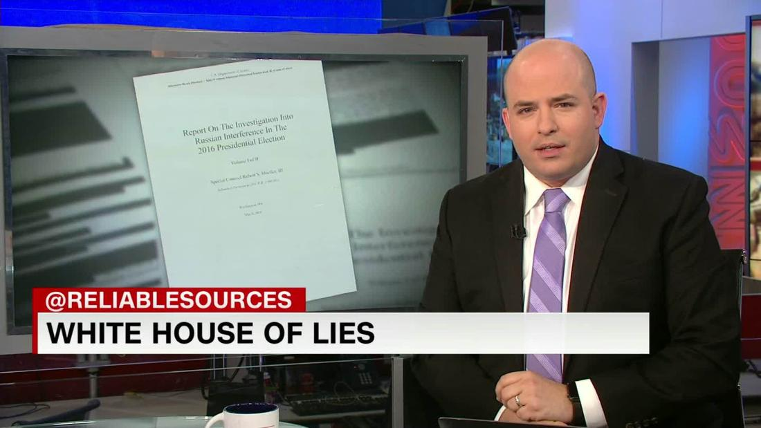 Mueller report reveals White House of lies