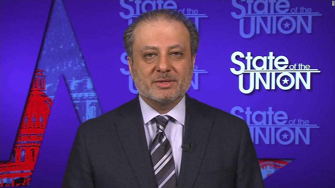 Bharara: Potential prosecution once Trump leaves office