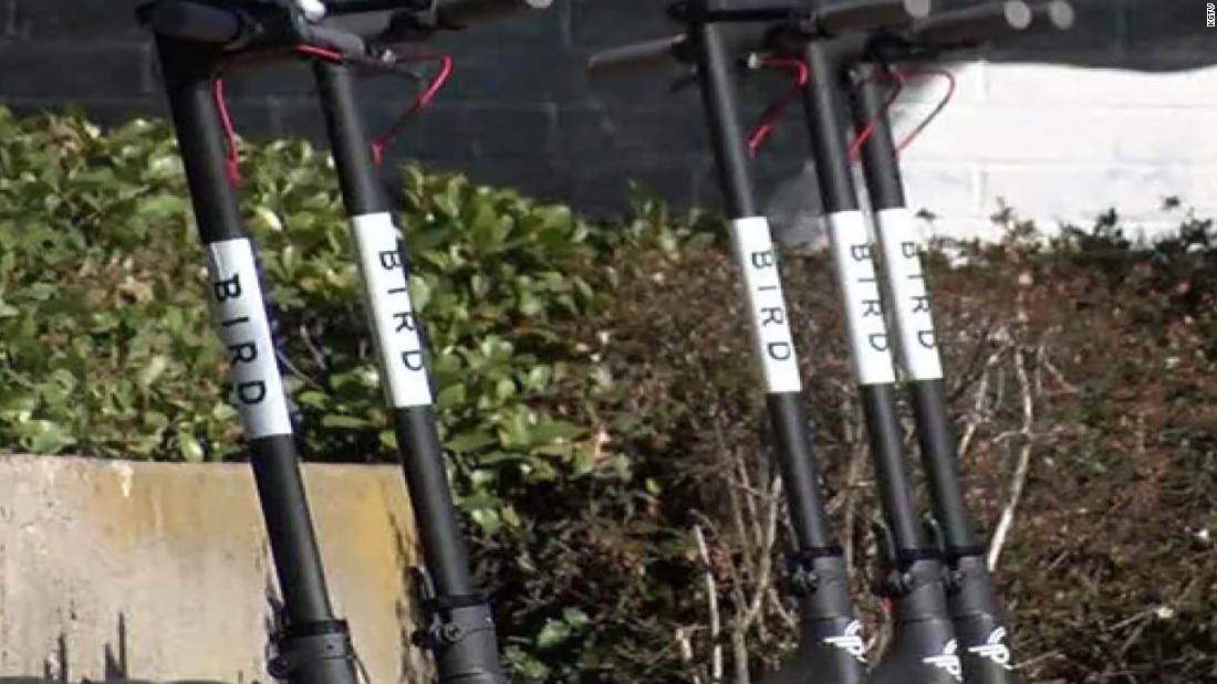 Bird scooters got kicked out of San Francisco but found a loophole back in