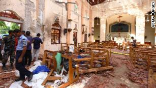 Image result for Sri Lanka attack death toll rises to 290 CNN