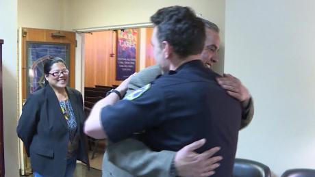 How a police officer helped a man face his addiction