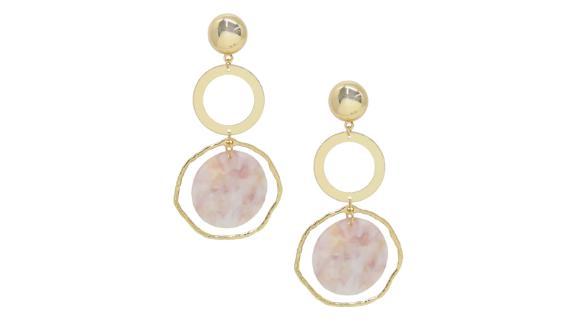 Ettika Disc Drop Earrings ($40; nordstrom.com)