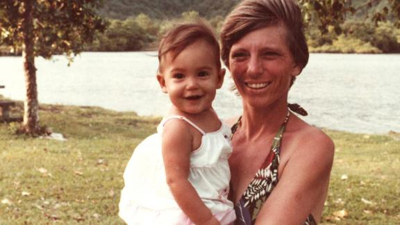 Gabbard was born April 12, 1981, in American Samoa. She's seen here with her mother, Carol. Her father, Mike, became a Hawaii state senator in 2006.