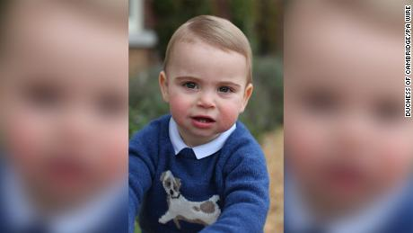 Prince Louis is fifth in line to the British throne.