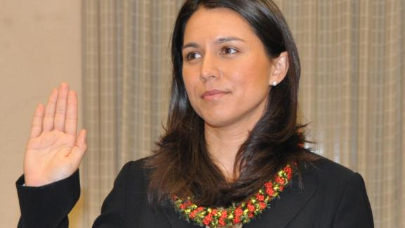 Gabbard was elected to the Honolulu City Council in 2010.