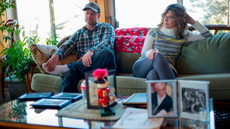 Mike Anders and Lorie Juno were devastated by the death of their father, Larry Anders, at a Wisconsin nursing home.
