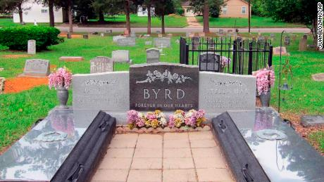 James Byrd Jr.'s gravesite in Jasper, Texas, once required fencing to ward off vandals.