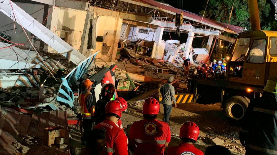 Philippines rocked by deadly 6.1-magnitude earthquake