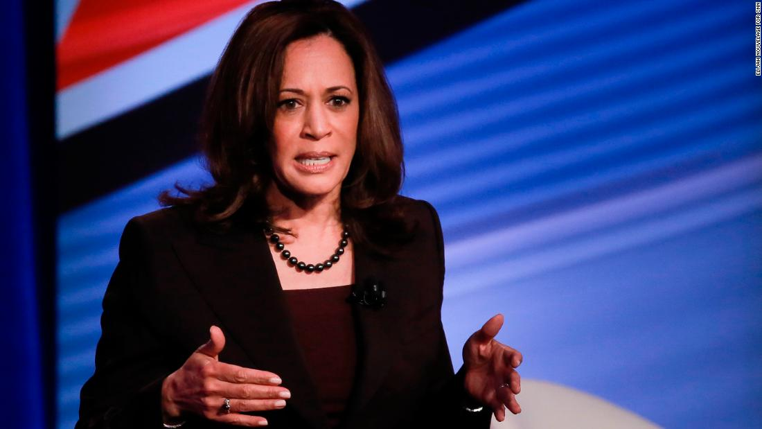 Kamala Harris: 'We're not at any loss for good ideas' about gun control