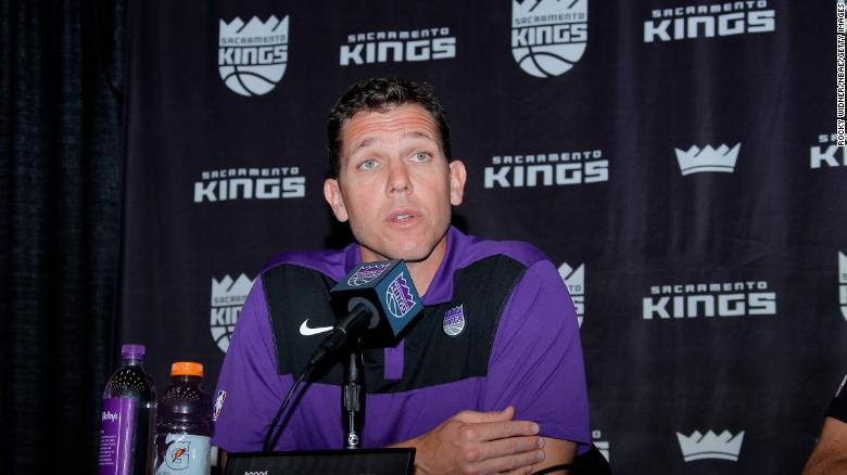 Luke Walton was named head coach of the Sacramento Kings earlier this month.