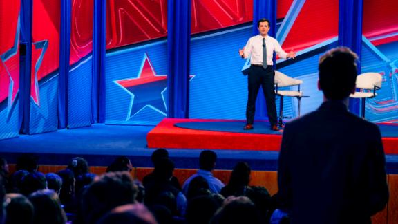 CNN Presidential Town Hall with Mayor Pete Buttigieg moderated by Anderson CooperLive from Manchester, New Hampshire