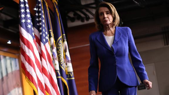 U.S. Speaker of the House Nancy Pelosi departs her weekly press conference on January 31, 2019 in Washington, DC. (Win McNamee/Getty Images)