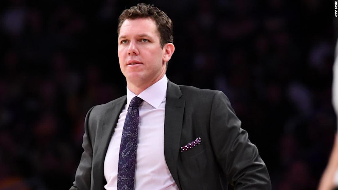 The former sportscaster accusing NBA coach Luke Walton of sexual assault says she was scared to tell her story