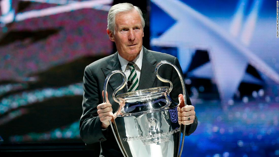 Billy McNeill: Celtic legend and European Cup winning captain dies aged 79