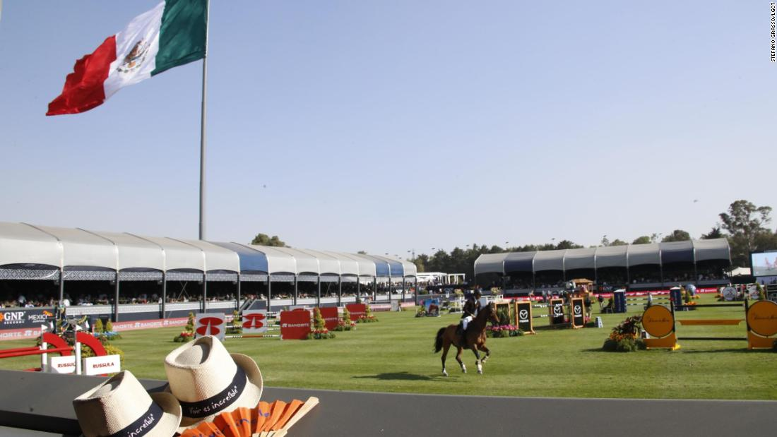 The Campo Marte venue, at more than 2,000 feet above sea level, hosted the equestrian events at the 1968 Olympic Games.