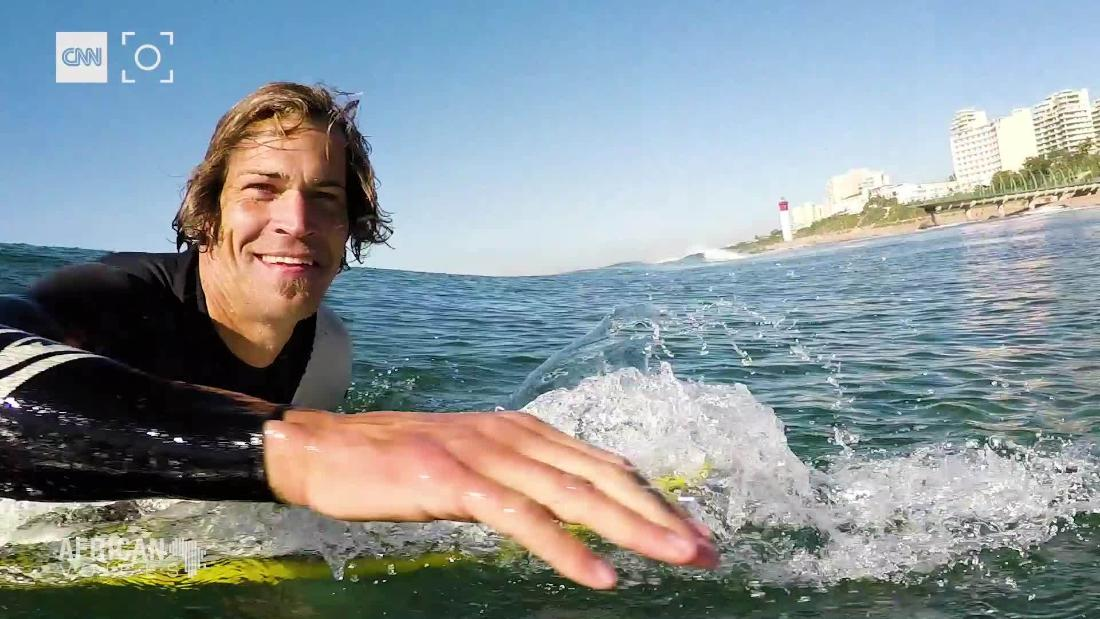 South Africa's top surf skier on finding peace off the podium