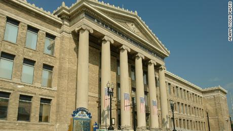 The city hall of Bridgeport, Connecticut, is shown in this 2007 file photo.