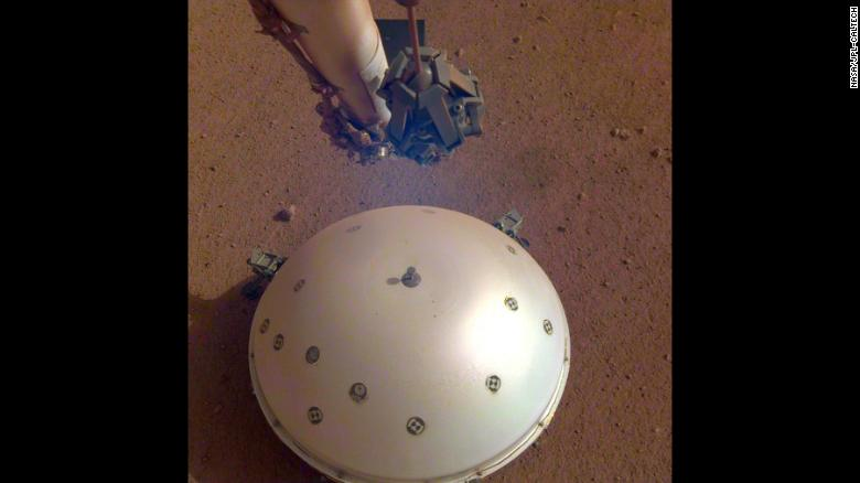 InSight's seismometer recorded a