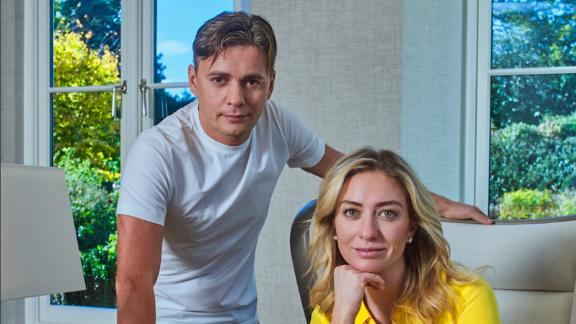 Majority Bumble owner Andrey Andreev and founder/CEO Whitney Wolfe Herd