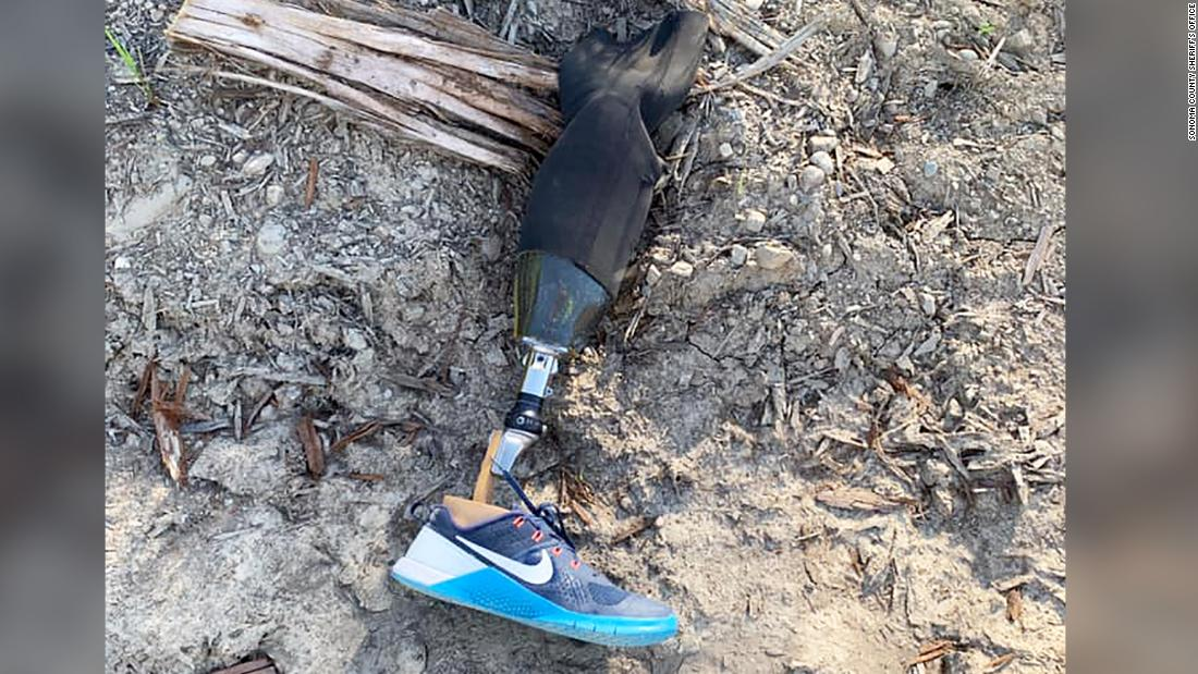 Skydiver reunited with prosthetic leg he lost while 10,000 feet in the air