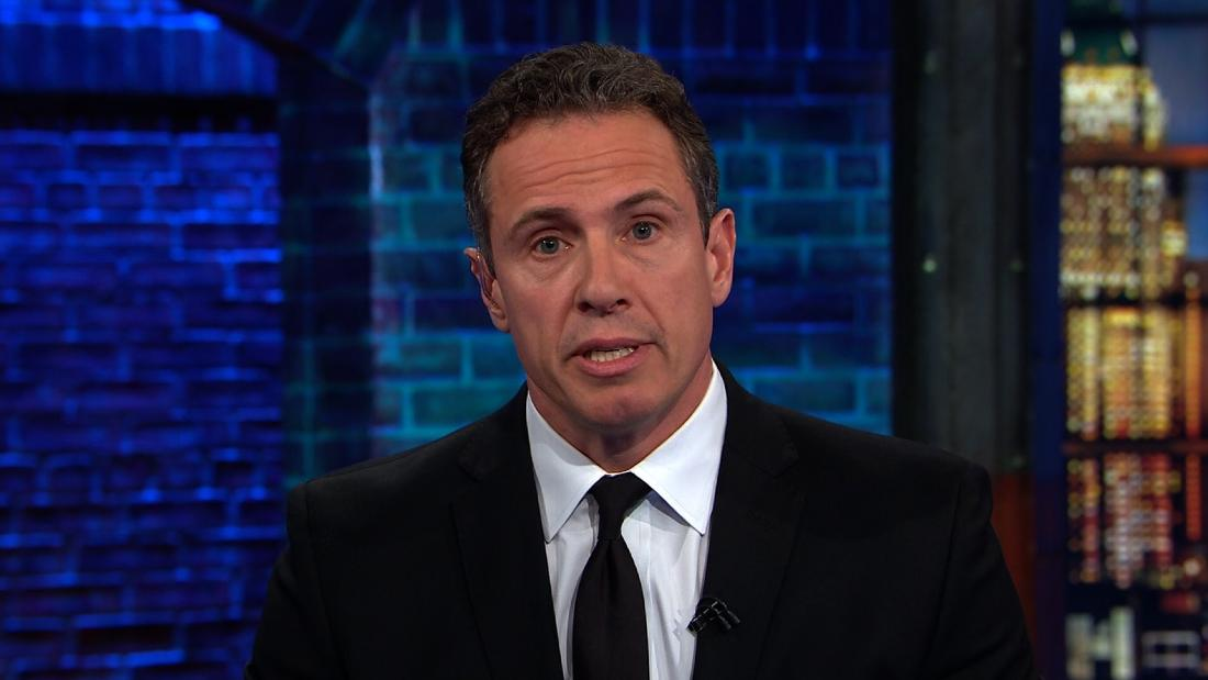 Chris Cuomo responds to Trump's personal Twitter attack