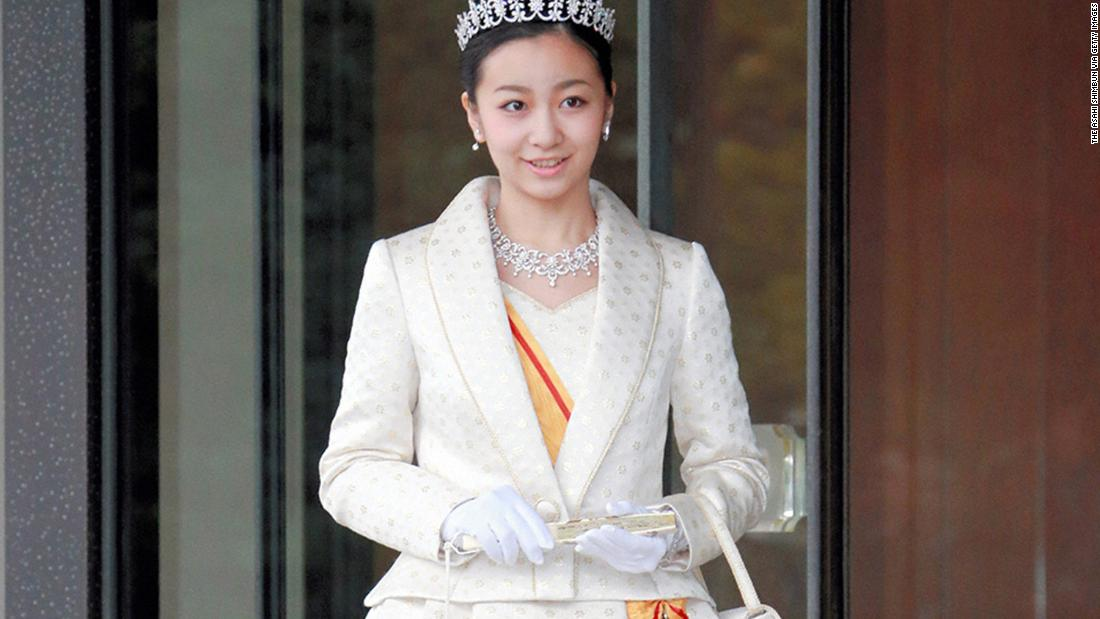 Princess Kako of Akishino attends her 20th birthday celebration at the Imperial Palace on December 29, 2014 in Tokyo. Kako, granddaughter of Emperor Akihito, prayed at the Three Palace Sanctuaries in the palace grounds, after which Emperor Akihito bestowed her with a decoration known as the Grand Cordon of the Order of the Precious Crown.