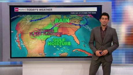 Severe weather continues for third day across Texas - CNN Video on
