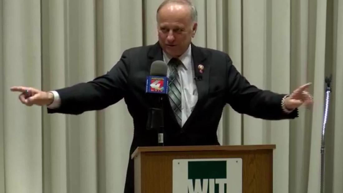 Steve King says he relates to what Christ 'went through for us' after controversies