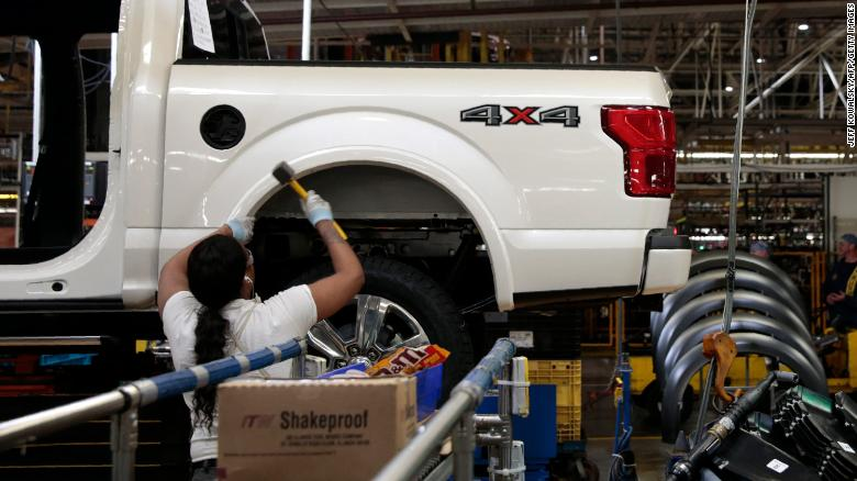 Ford to lay off 500 salaried workers in the US