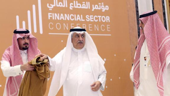 Saudi Foreign Minister Ibrahim al-Assaf attends financial sector conference in Riyadh, Saudi Arabia April 24, 2019. REUTERS/Stringer. NO RESALES. NO ARCHIVES