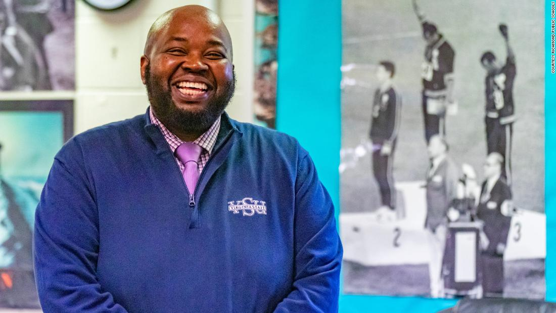 He teaches incarcerated kids to honor his mom who was denied education. Now, he's National Teacher of the Year.