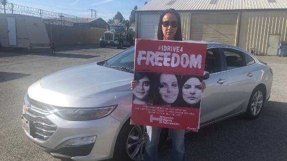 """Manal Al-Sharif on her """"Drive For Freedom"""" across the United States"""