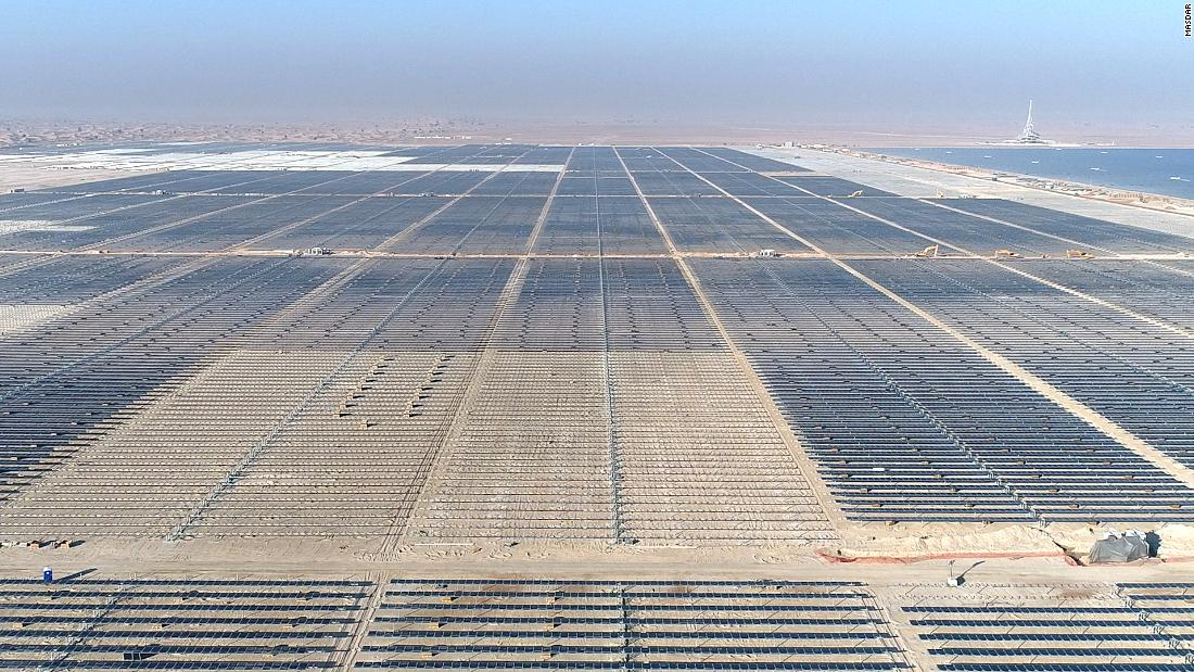 $13.6B record-breaking solar park rises from Dubai desert