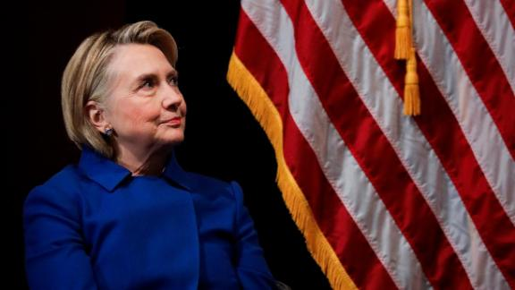 Former Secretary of State Hillary Clinton at Barnard College, January 7, 2019, in New York.