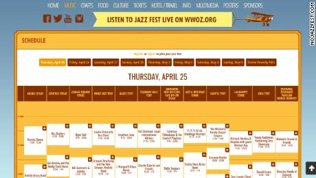 No Jazz Fest >> New Orleans Jazz Fest Is Turning 50 And It S Only Getting Better