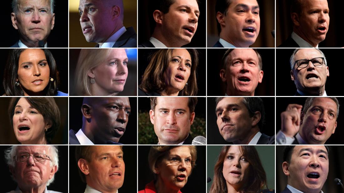 The Latest Cnn Poll On 2020 Democrats Cnnpolitics