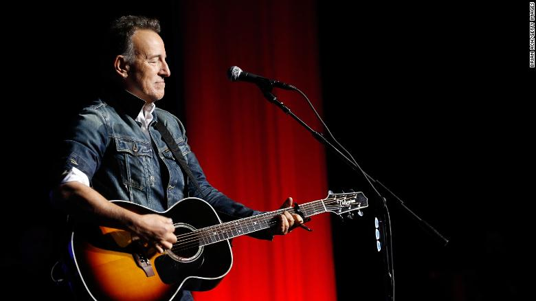 Bruce Springsteen arrested on DWI charges in November