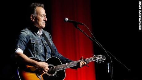 NEW YORK, NY - NOVEMBER 05:  Bruce Springsteen performs on stage at The New York Comedy Festival and The Bob Woodruff Foundation present the 12th Annual Stand Up For Heroes event at The Hulu Theater at Madison Square Garden on November 5, 2018 in New York City.  (Photo by Brian Ach/Getty Images for Bob Woodruff Foundation)