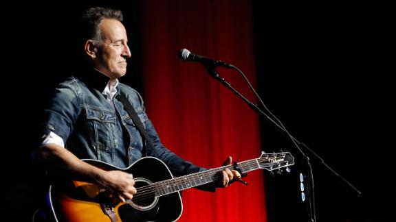 Bruce Springsteen, seen here in 2018, was arrested in November on suspicion of driving while intoxicated.
