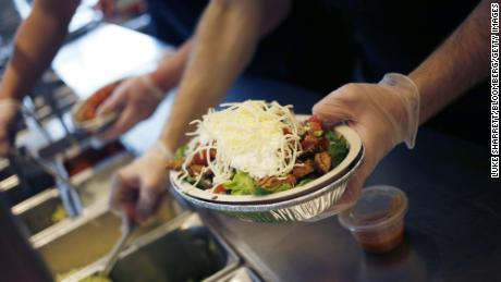 Chipotle shares drop sharply on news that US health investigation is expanding