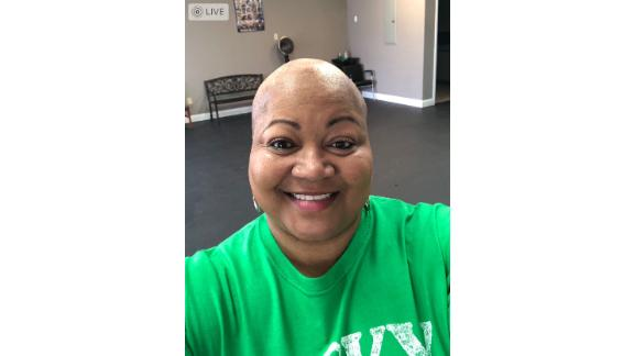 Wilma DeYampert, who is fighting cancer, donated two of her sick days.