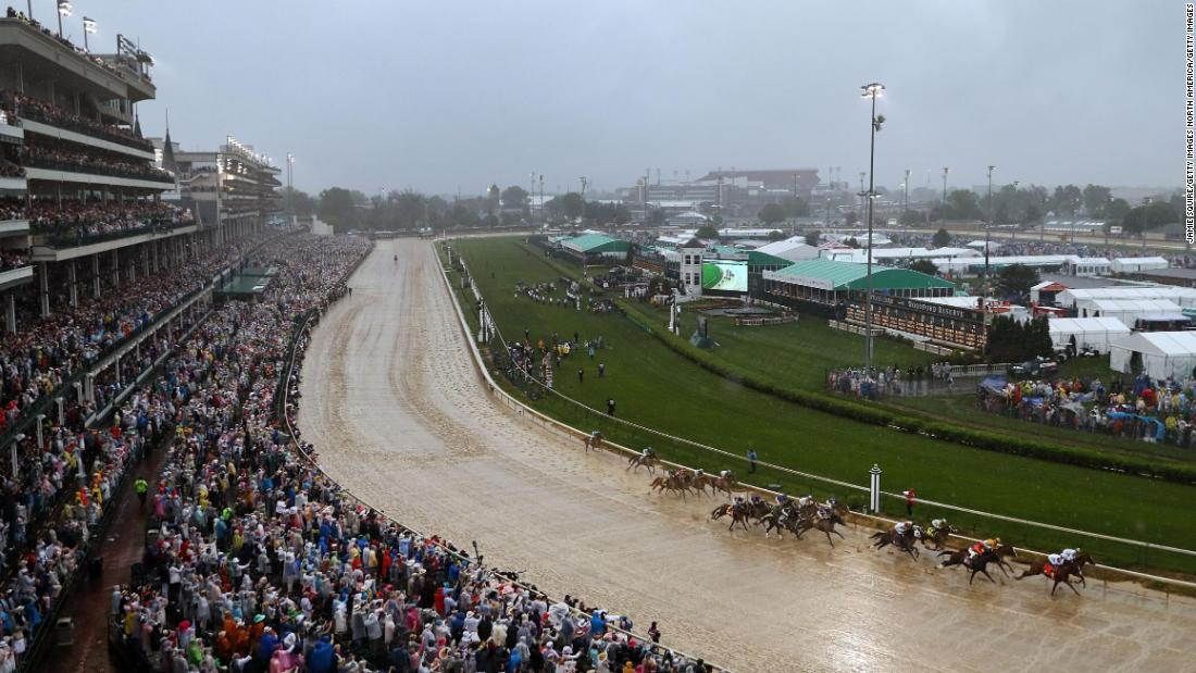 "More than 150,000 racegoers packed out Churchill Downs in Louisville for last year's <a href=""https://edition.cnn.com/2013/09/28/us/kentucky-derby-fast-facts/index.html"" target=""_blank"">Kentucky Derby</a>, one of the best-loved events in the racing calendar."