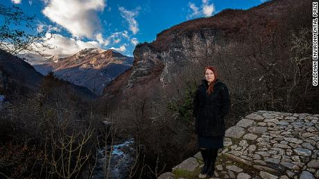 Ana Colovic Lesoska's love of nature spurred her to try to protect it.